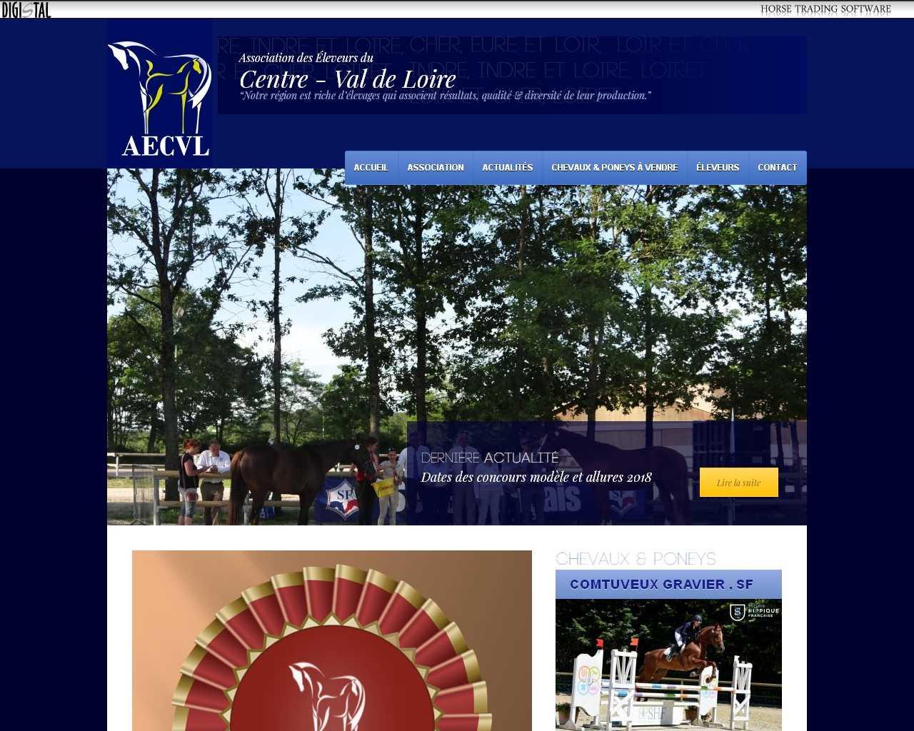 Visuel du site AECVL