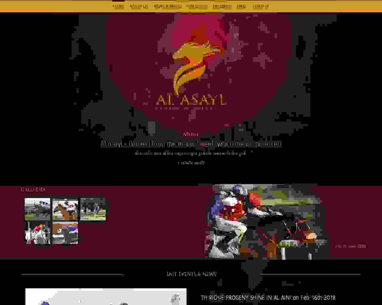 Visuel du site Al Asayl