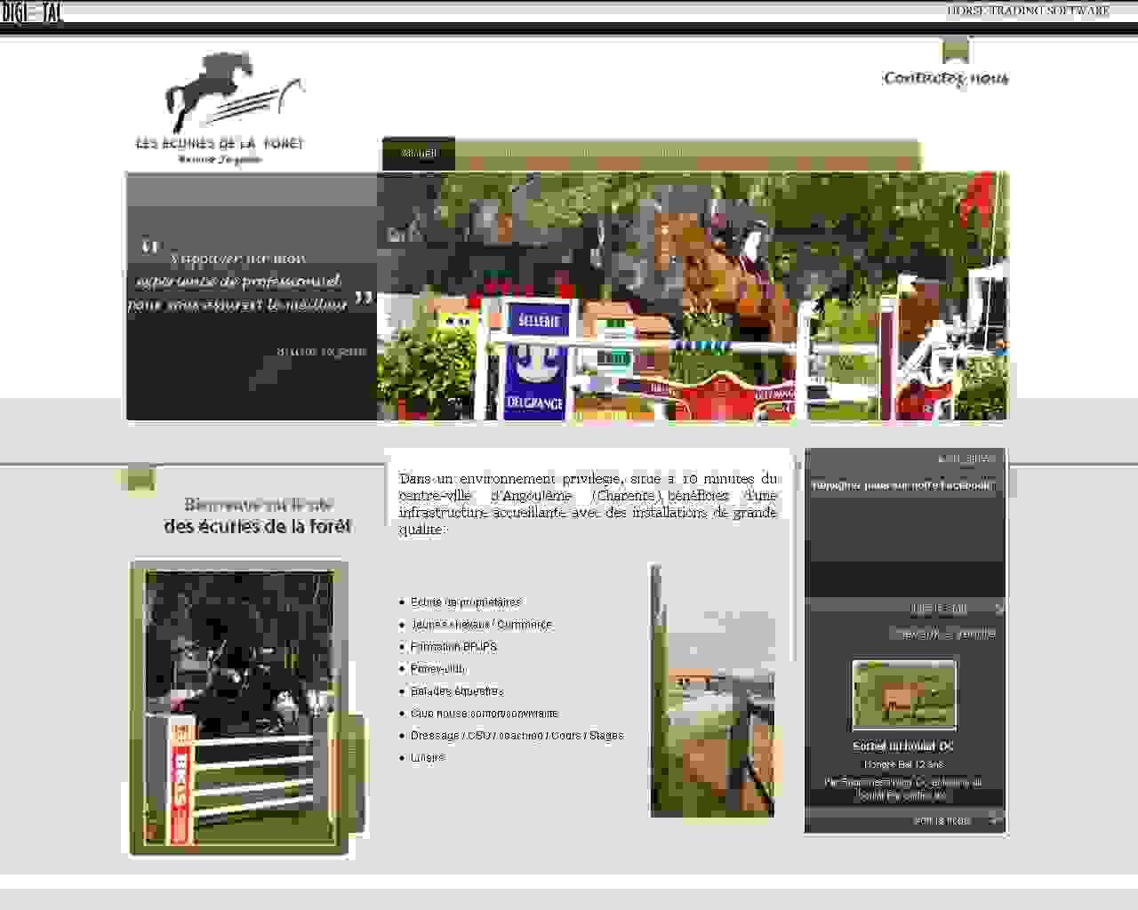 Visuel du site SCEA La Forêt