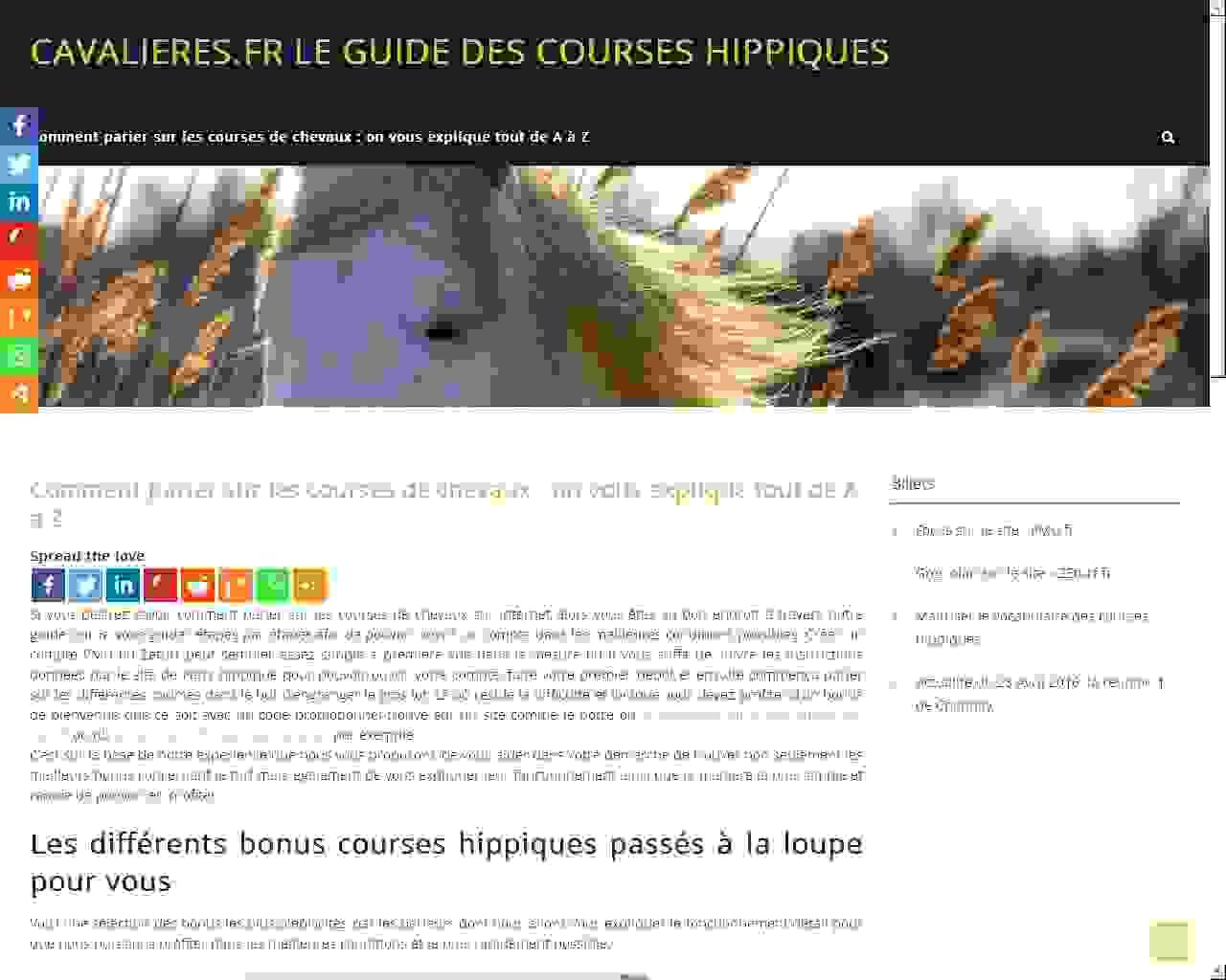 CAVALIERES.FR