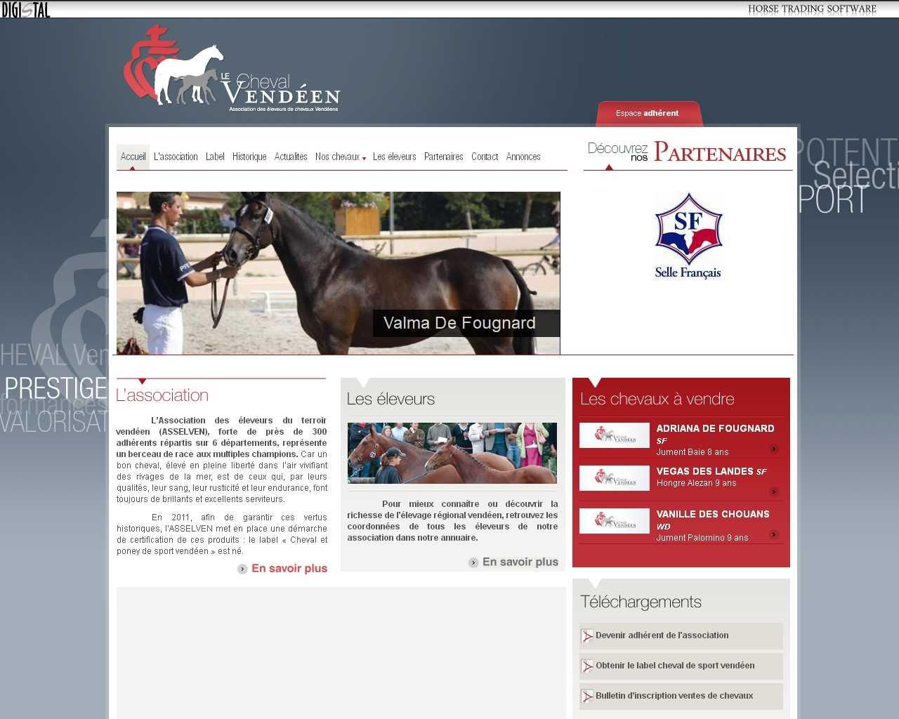 Association des Eleveurs du Terroir Vendéen un site Dreamclic