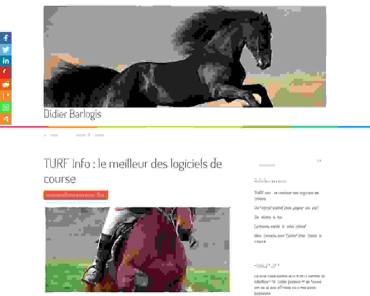 Vente de chevaux de course trotteurs