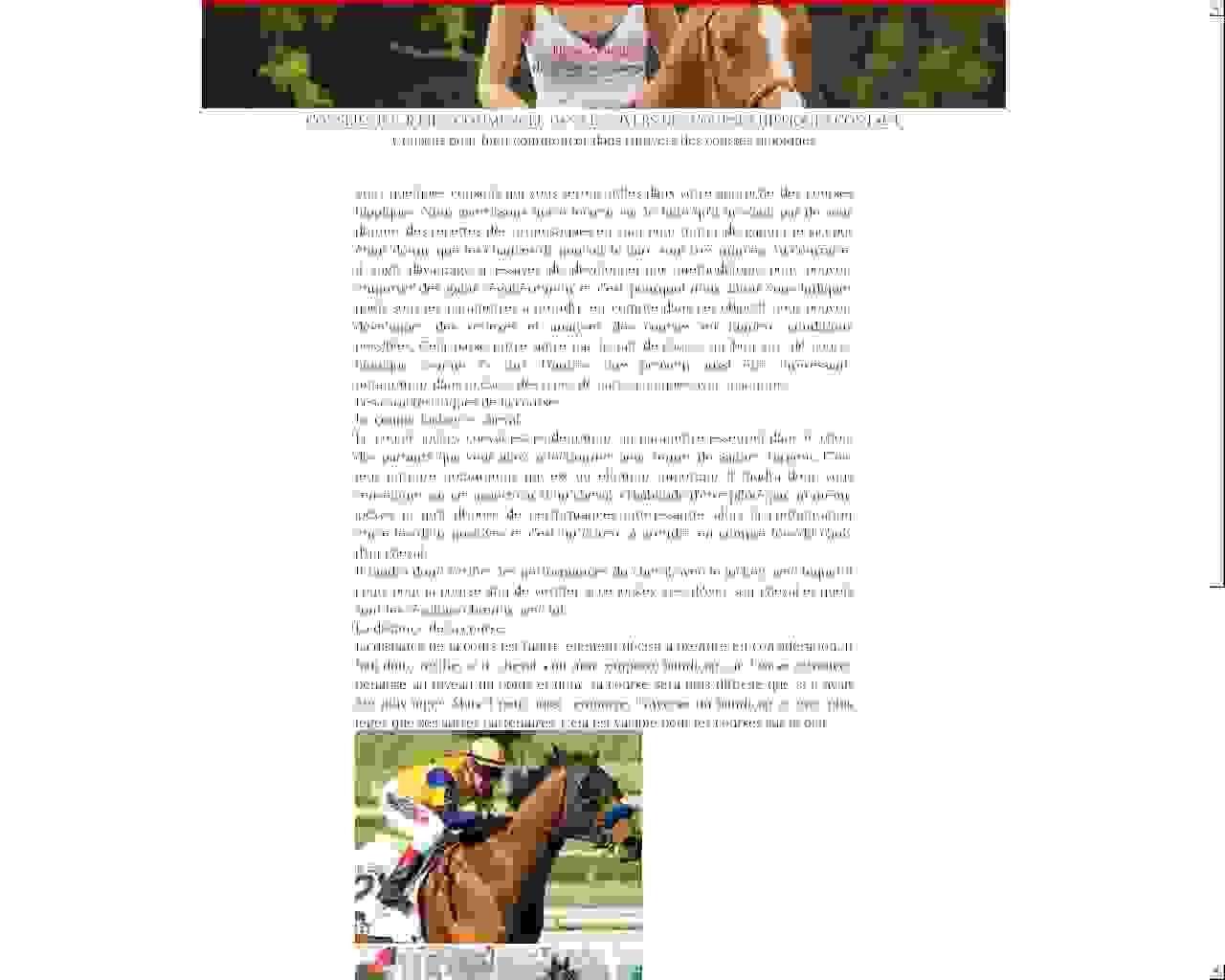 Visuel du site Domaine Equestre de Monnières
