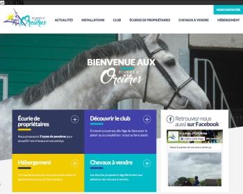 SARL Ecuries d'Orcières un site Dreamclic