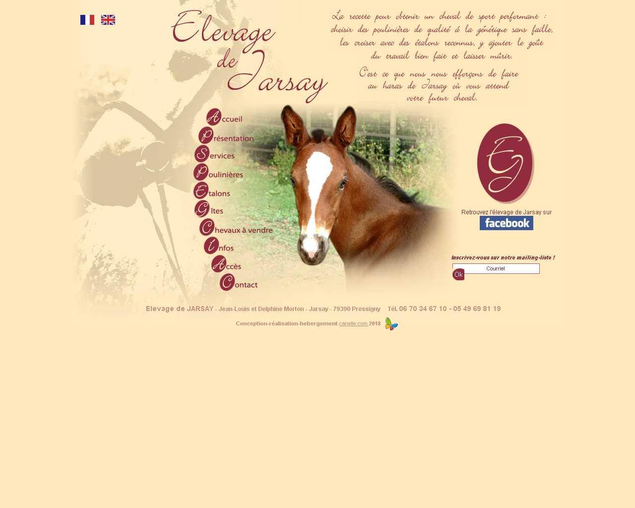 ELEVAGE DE JARSAY