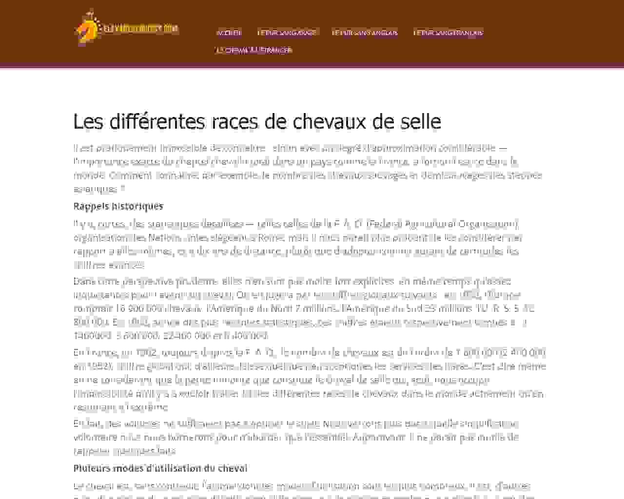 Visuel du site ELevage de Buissy