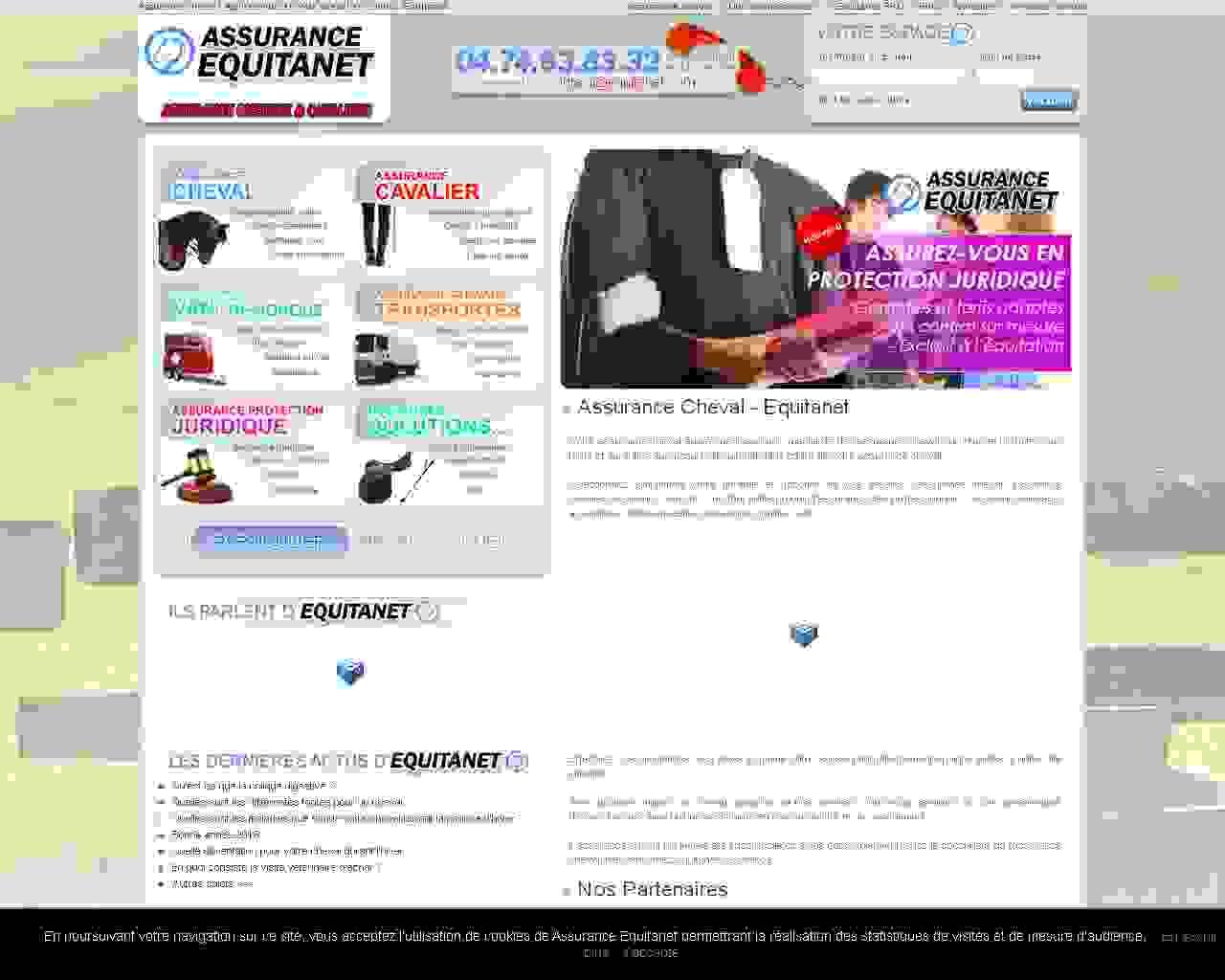 Visuel du site Elevage de la Loge