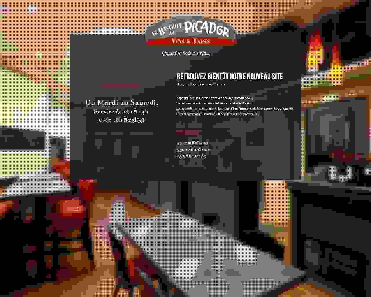 Visuel du site El Picador