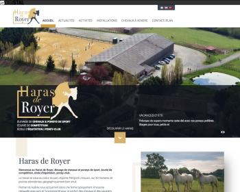 Haras de Royer un site Dreamclic