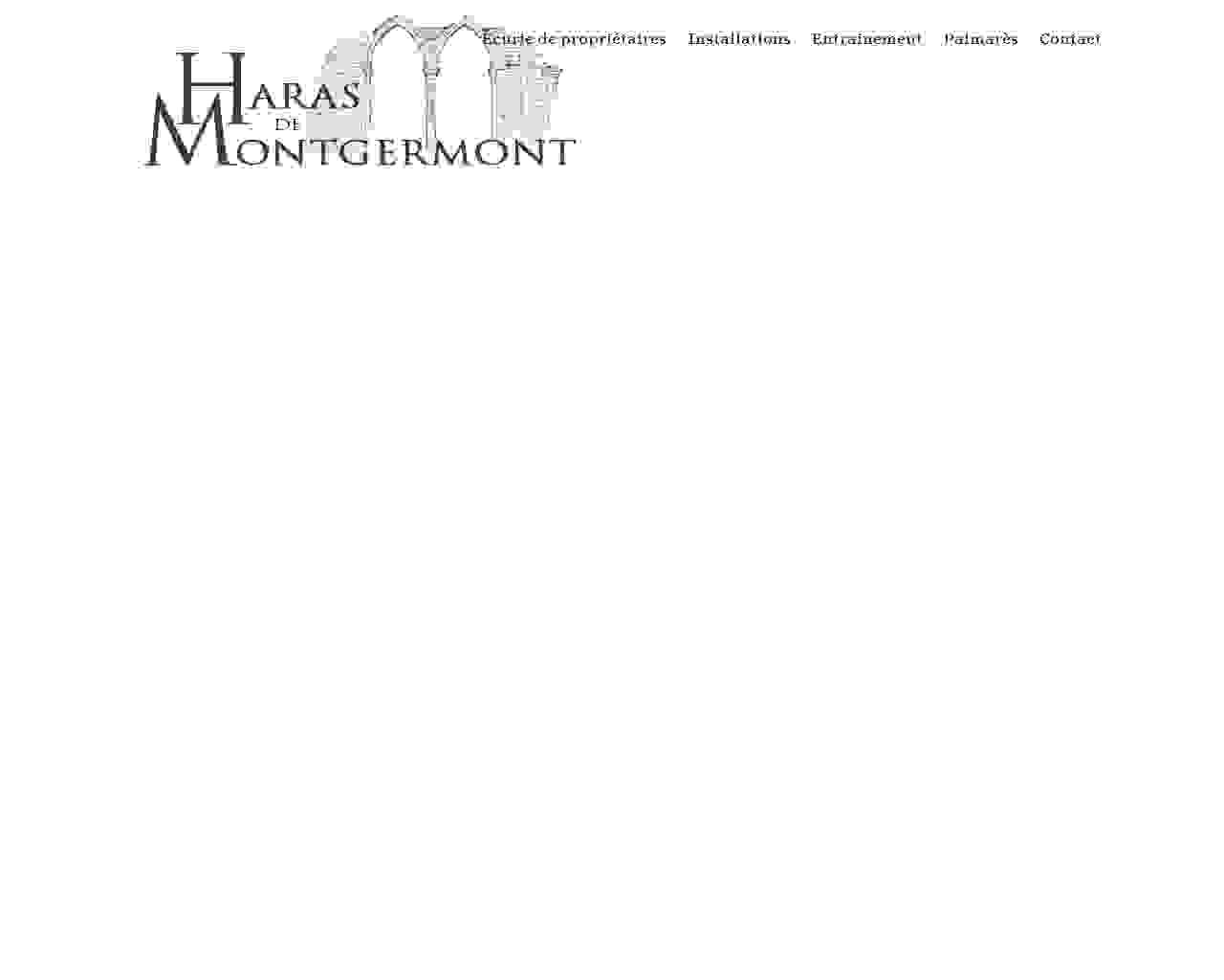 Visuel du site Haras des dreams