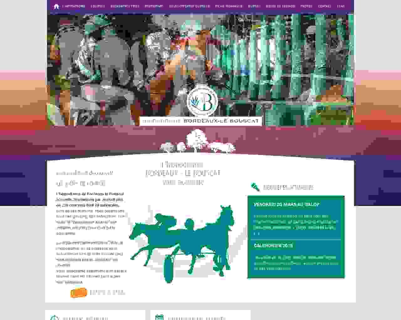 Visuel du site EARL Haras du Coutil