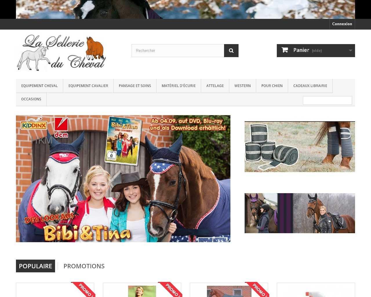 La sellerie du cheval - boutique en ligne