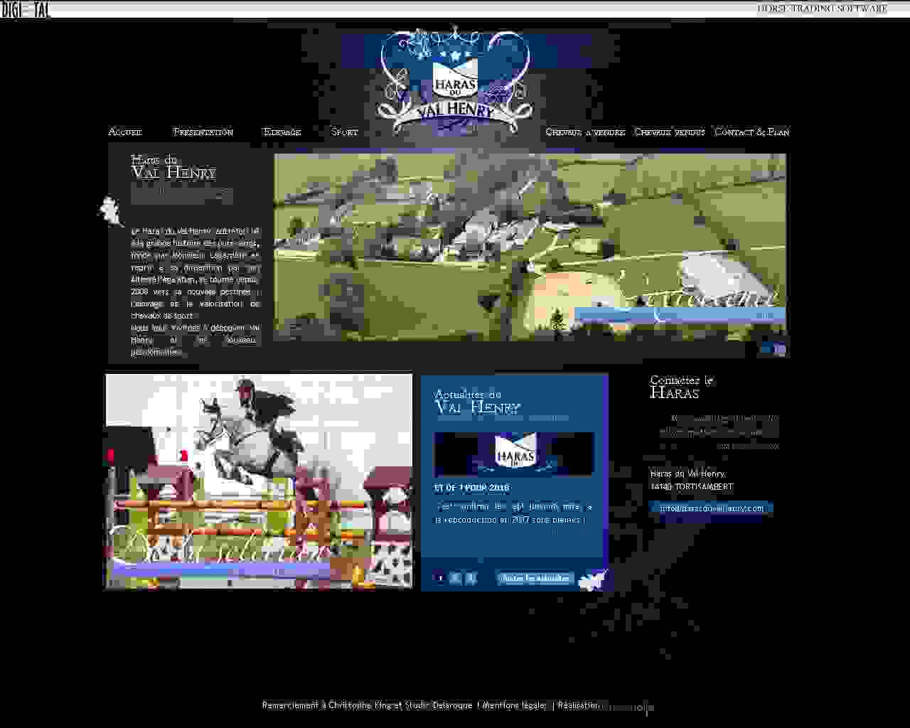 Visuel du site Pole Compétition Équitation Toulouse