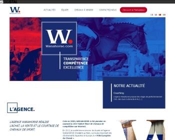SARL WANAHORSE un site Dreamclic