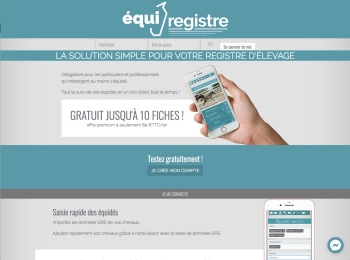 Equiregistre un site Dreamclic