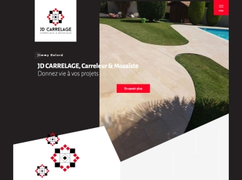 JD Carrelage un site Dreamclic