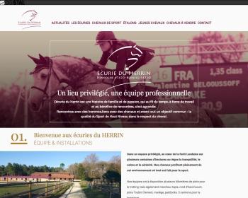 SNC Ecurie du Herrin un site Dreamclic